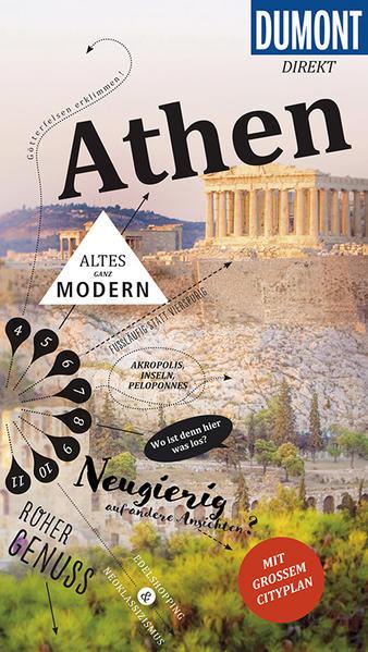 DuMont direkt Reiseführer Athen - Coverbild