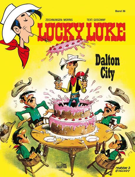 Lucky Luke 36 - Coverbild