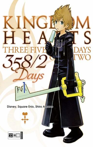 Kingdom Hearts 358/2 Days 01 - Coverbild