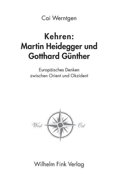 Kehren: Martin Heidegger und Gotthard Günther - Coverbild
