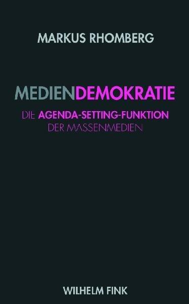 Mediendemokratie - Coverbild