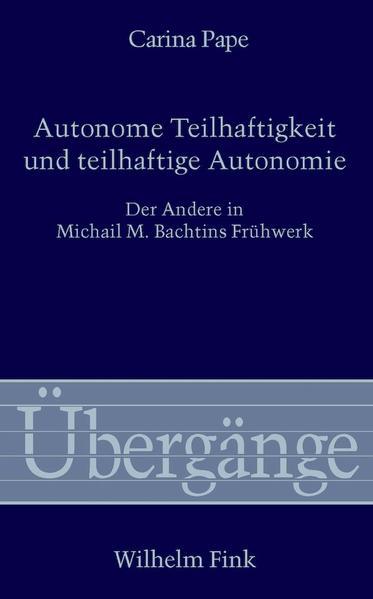 Autonome Teilhaftigkeit und teilhaftige Autonomie - Coverbild