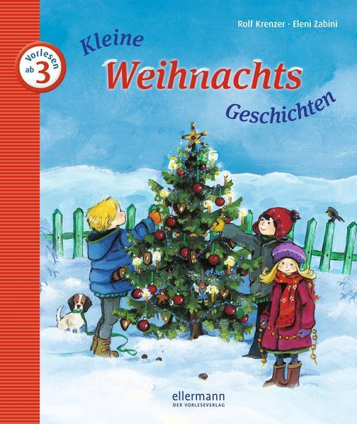 Kleine Weihnachts-Geschichten zum Vorlesen - Coverbild