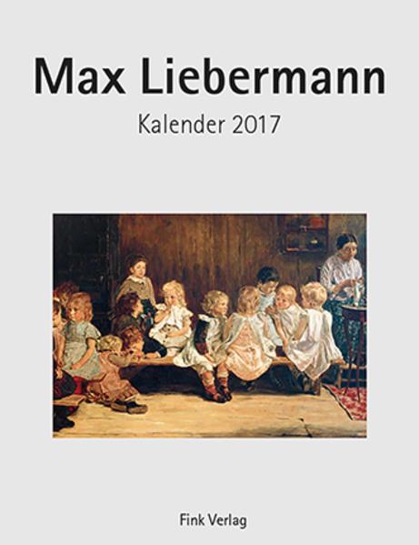Max Liebermann 2017 - Coverbild