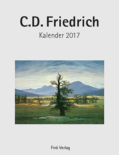 C. D. Friedrich 2017 - Coverbild