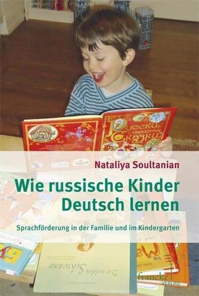 Wie russische Kinder Deutsch lernen - Coverbild