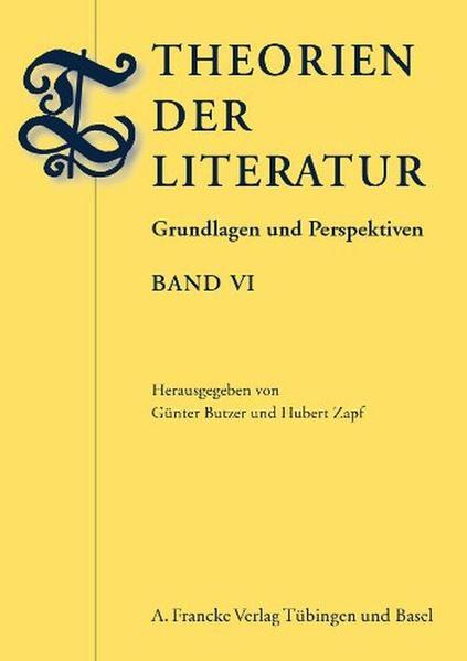 Theorien der Literatur - Coverbild