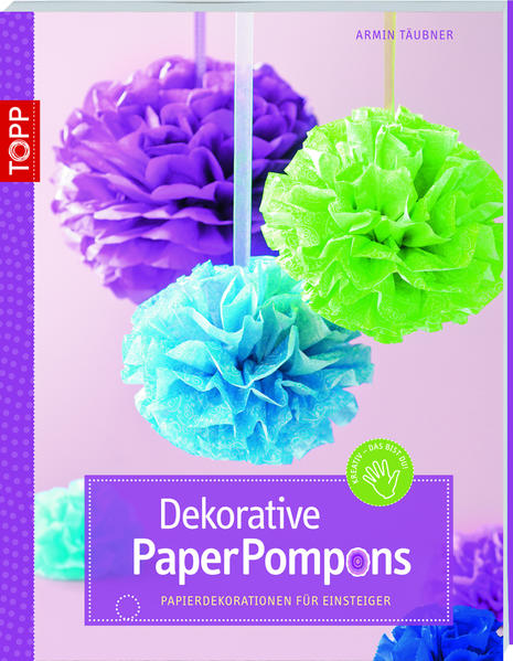 Dekorative PaperPompons - Coverbild