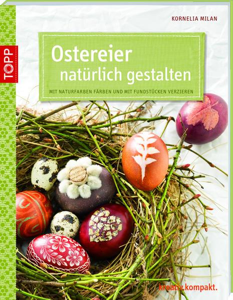 Ostereier natürlich gestalten - Coverbild