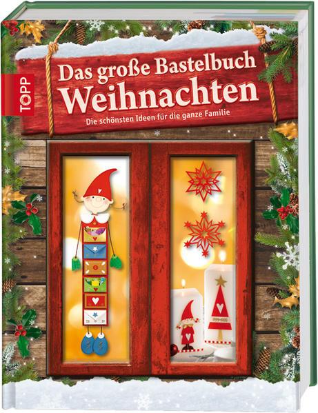 Das große Bastelbuch Weihnachten - Coverbild