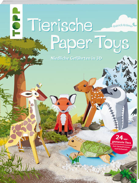 Tierische Paper Toys - Coverbild