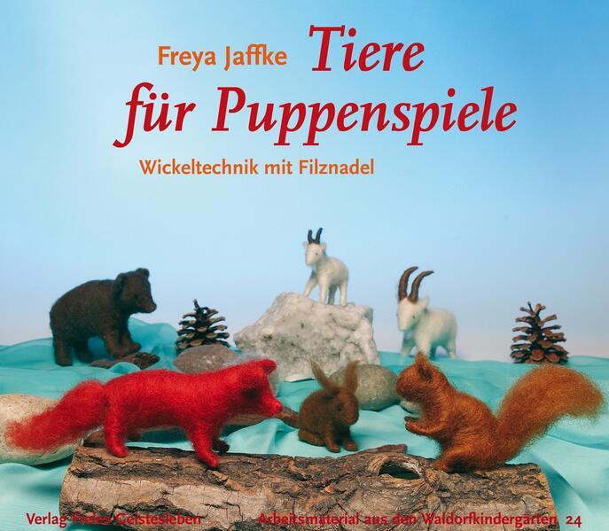 Tiere für Puppenspiele - Coverbild