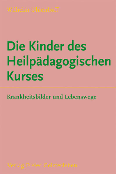 Die Kinder des Heilpädagogischen Kurses - Coverbild