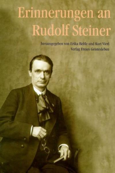 Erinnerungen an Rudolf Steiner - Coverbild