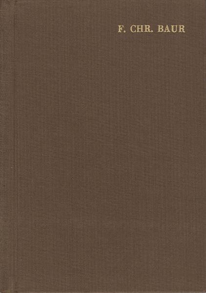 Ferdinand Christian Baur: Ausgewählte Werke / Band IV: Arbeiten zur Kirchengeschichte III - Coverbild