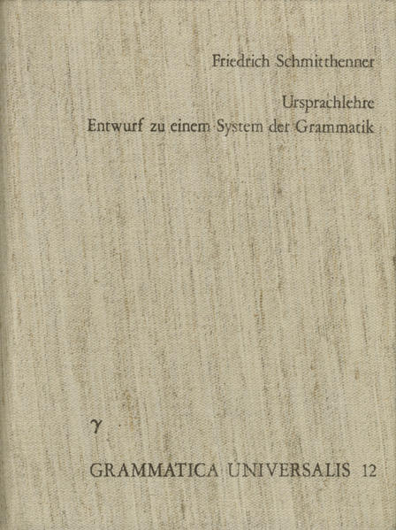 Ursprachlehre - Coverbild