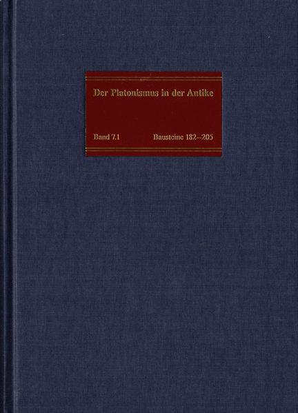 Die philosophische Lehre des Platonismus [4] - Coverbild