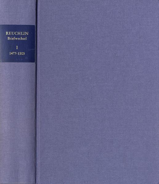 Johannes Reuchlin: Briefwechsel / 1999-2012. 4 Bände - Coverbild
