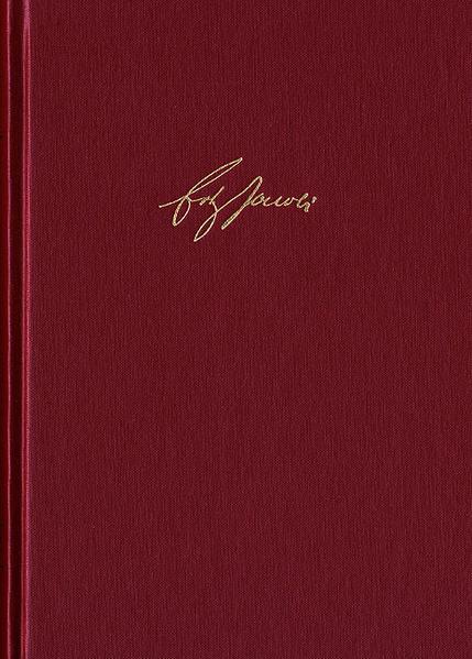 Friedrich Heinrich Jacobi: Briefwechsel - Nachlaß - Dokumente / Briefwechsel. Reihe II: Kommentar. Band 4,1-2. Briefwechsel 1785 - Coverbild