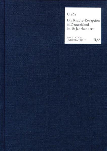 Die Krause-Rezeption in Deutschland im 19. Jahrhundert - Coverbild