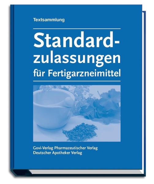 Standardzulassungen für Fertigarzneimittel - Coverbild