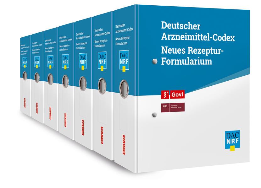 Deutscher Arzneimittel-Codex (DAC) / Neues Rezeptur Formularium (NRF) - Coverbild
