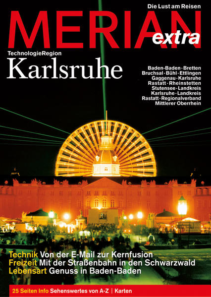 MERIAN Karlsruhe extra - Coverbild