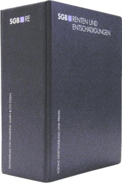 SGB RE Renten und Entschädigungen - Coverbild