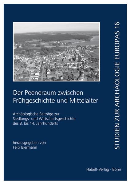 Der Peeneraum zwischen Frühgeschichte und Mittelalter - Coverbild