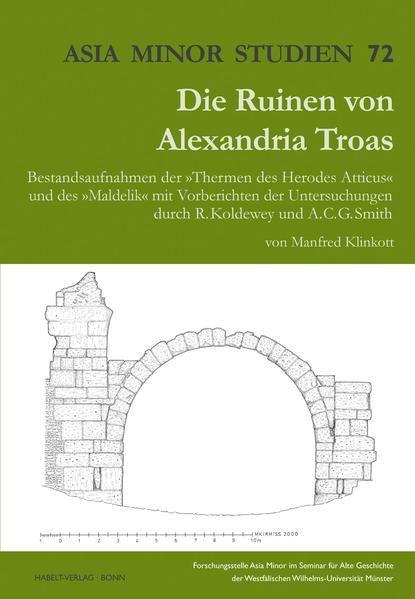 Die Ruinen von Alexandreia Troas - Coverbild