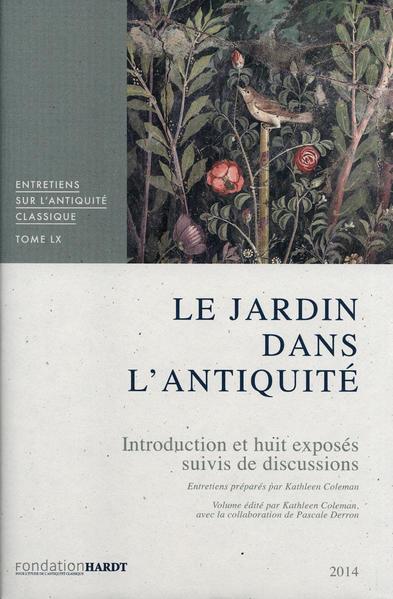 Le Jardin dans l'Antiquité - Coverbild
