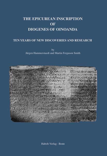 The Epicurean Inscription of Diogenes of Oinoanda - Coverbild