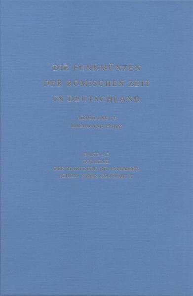 Die Fundmünzen der römischen Zeit in Deutschland, Abt. IV: Rheinland-Pfalz, Bd 4,2: Koblenz: Der Martberg bei Pommern (ehem. Kreis Cochem) II - Coverbild