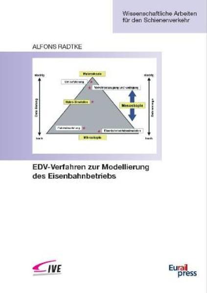 EDV-Verfahren zur Modellierung des Eisenbahnbetriebs - Coverbild