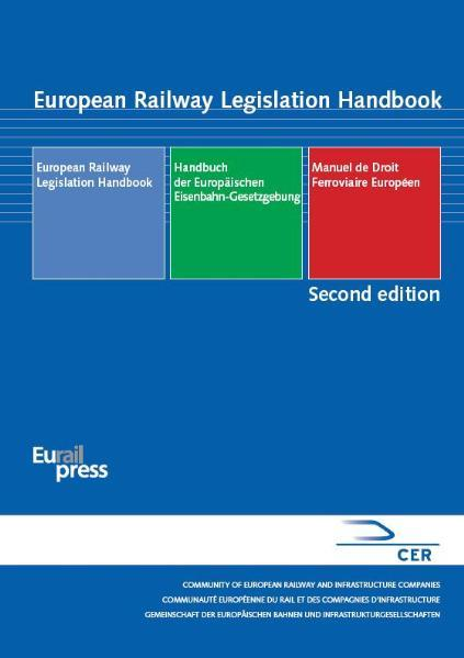 European Railway Legislation Handbook - Coverbild