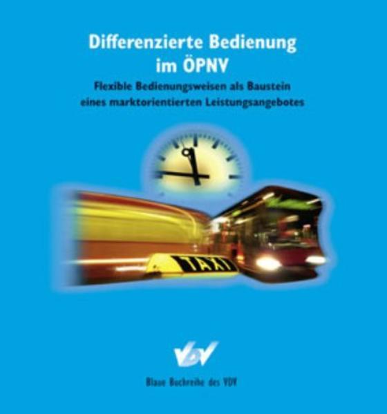 Differnzierte Bedienung im ÖPNV - Coverbild