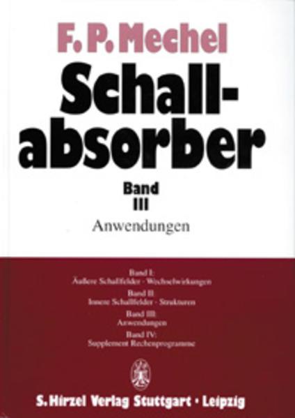 Schallabsorber Band III: - Coverbild