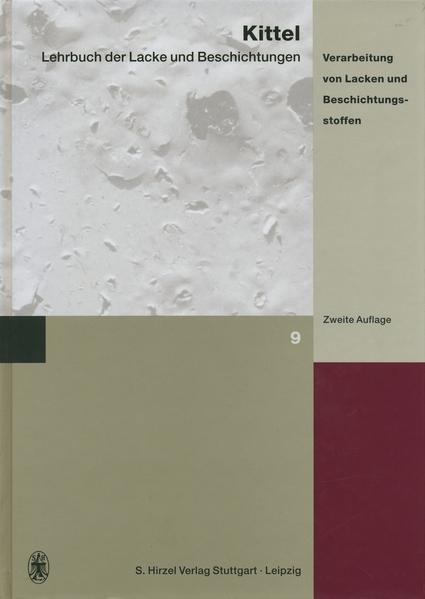 Lehrbuch der Lacke und Beschichtungen - Coverbild