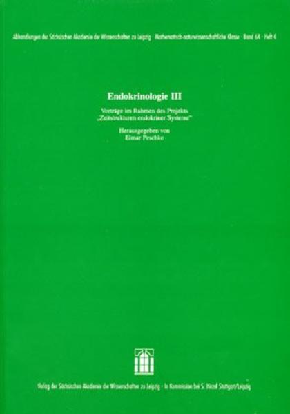 Endokrinologie III - Coverbild