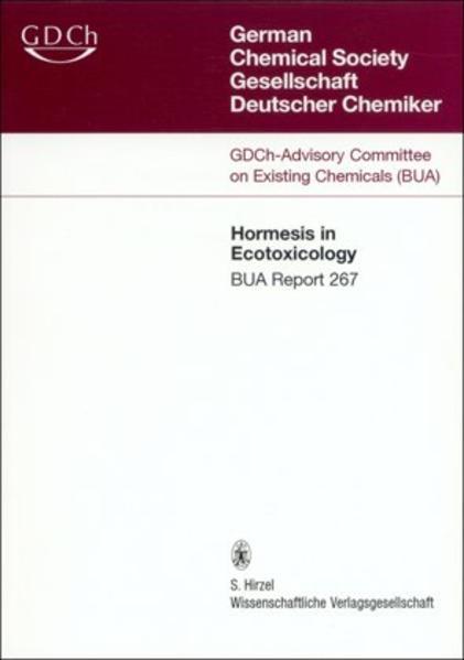 267 BUA-Report: Hormesis in Ecotoxicology - Coverbild