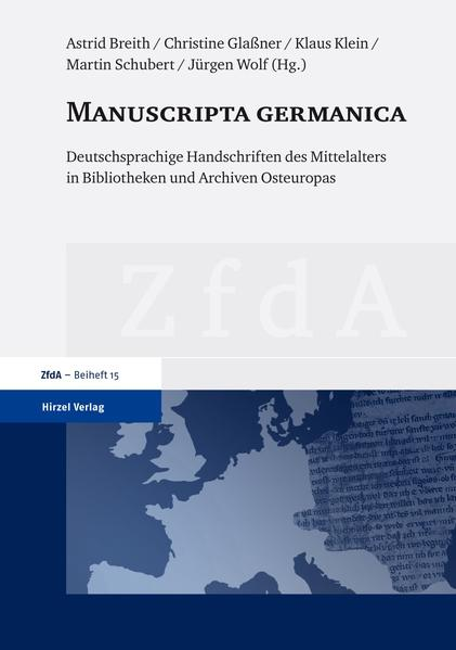 Manuscripta germanica - Coverbild