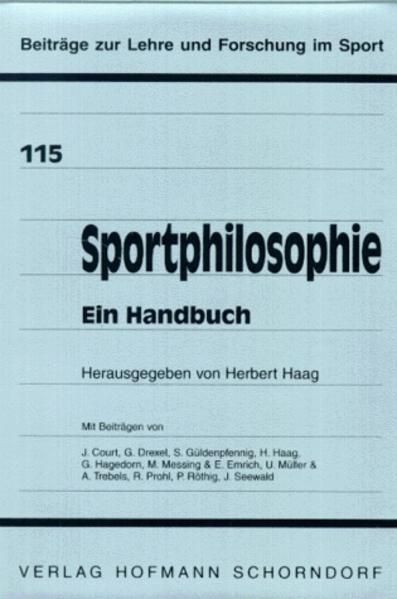 Sportphilosophie - Ein Handbuch - Coverbild
