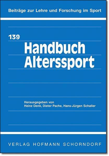 Handbuch Alterssport - Coverbild