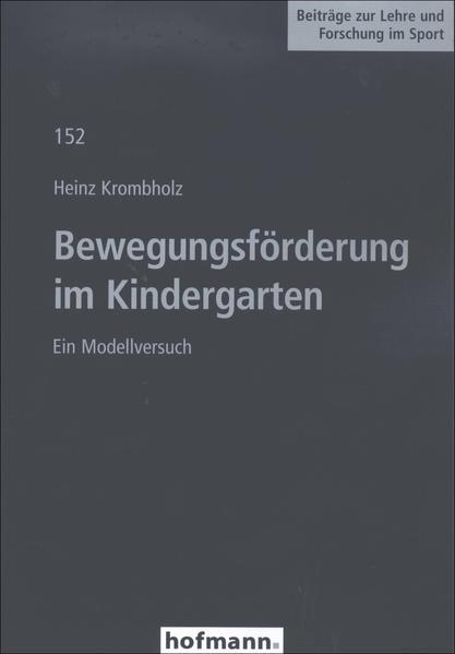 Bewegungsförderung im Kindergarten - Coverbild