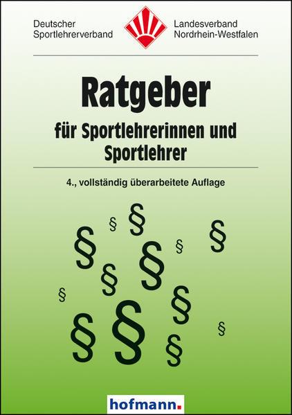 Ratgeber für Sportlehrerinnen und Sportlehrer - Coverbild