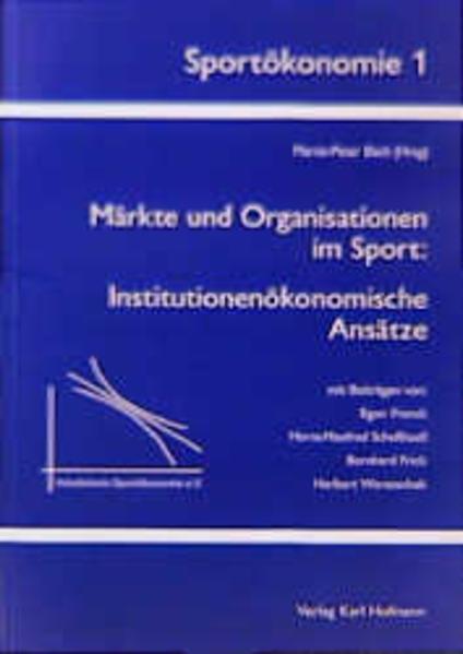 Märkte und Organisationen im Sport - Coverbild