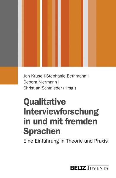 Qualitative Interviewforschung in und mit fremden Sprachen - Coverbild