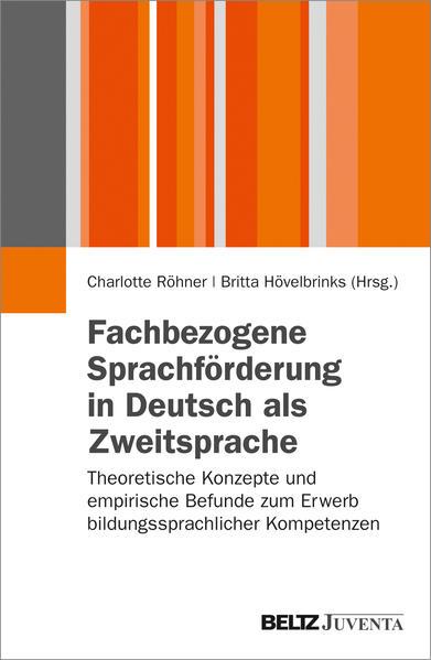 Fachbezogene Sprachförderung in Deutsch als Zweitsprache - Coverbild