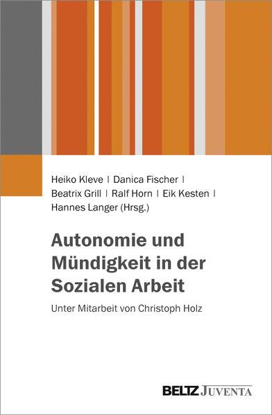 Autonomie und Mündigkeit in der Sozialen Arbeit - Coverbild