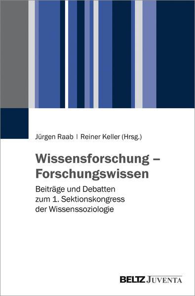 Wissensforschung – Forschungswissen - Coverbild